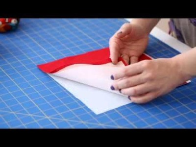 How to Make the Folded Flower Bowls from Sewing in a Straight Line by Brett Bara