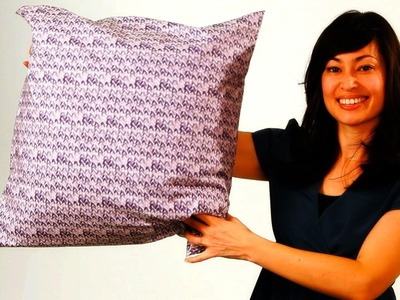 How to Stuff & Finish a No-Sew Pillow   No-Sew Crafts