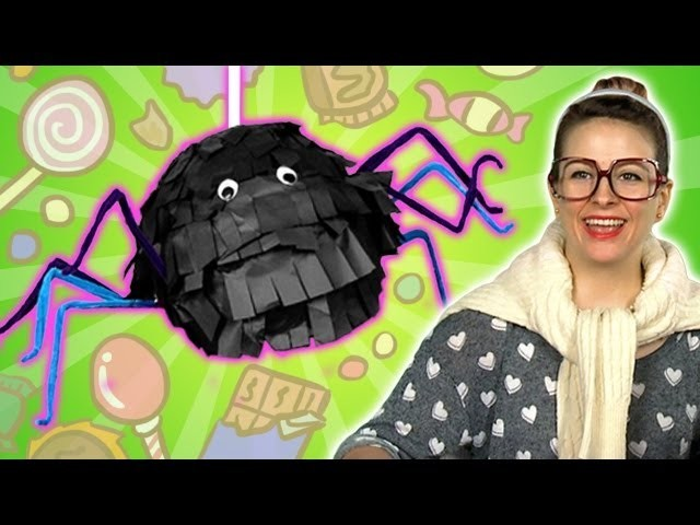 Itsy Bitsy Spider Pinata - Crafts for Kids at Cool School!