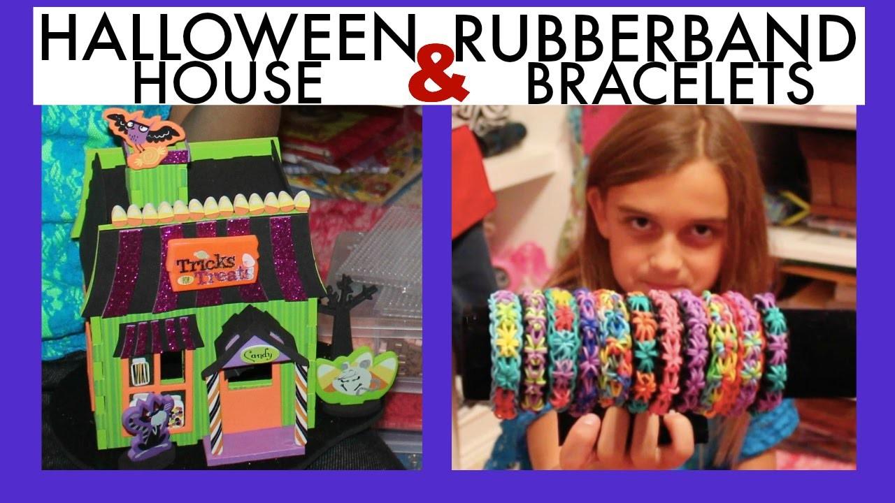 KIDS CRAFTS ~ RUBBERBAND BRACELETS & FOAM HOUSE KIT