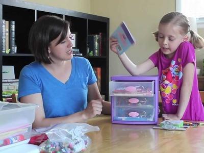 Kids in the Craft Room - Craft Supply Storage