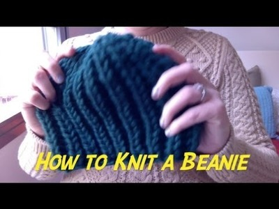 Learn How to Knit a Beanie III: Casting off - Last Step