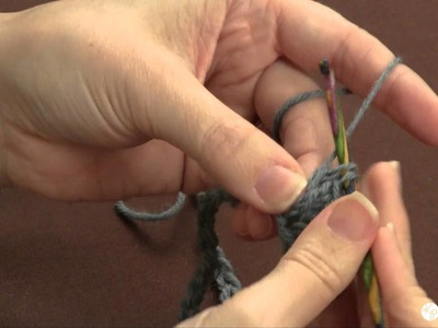 Learn to Crochet: the basic ripple stitch