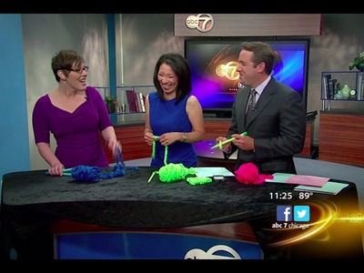 Liat Gat Knit Freedom WLS ABC 7 Chicago Knitting 101