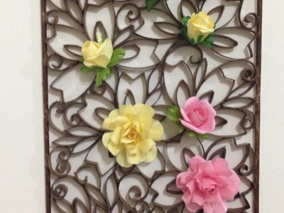 Make a Beautiful Paper Wall Decoration - Home - Guidecentral