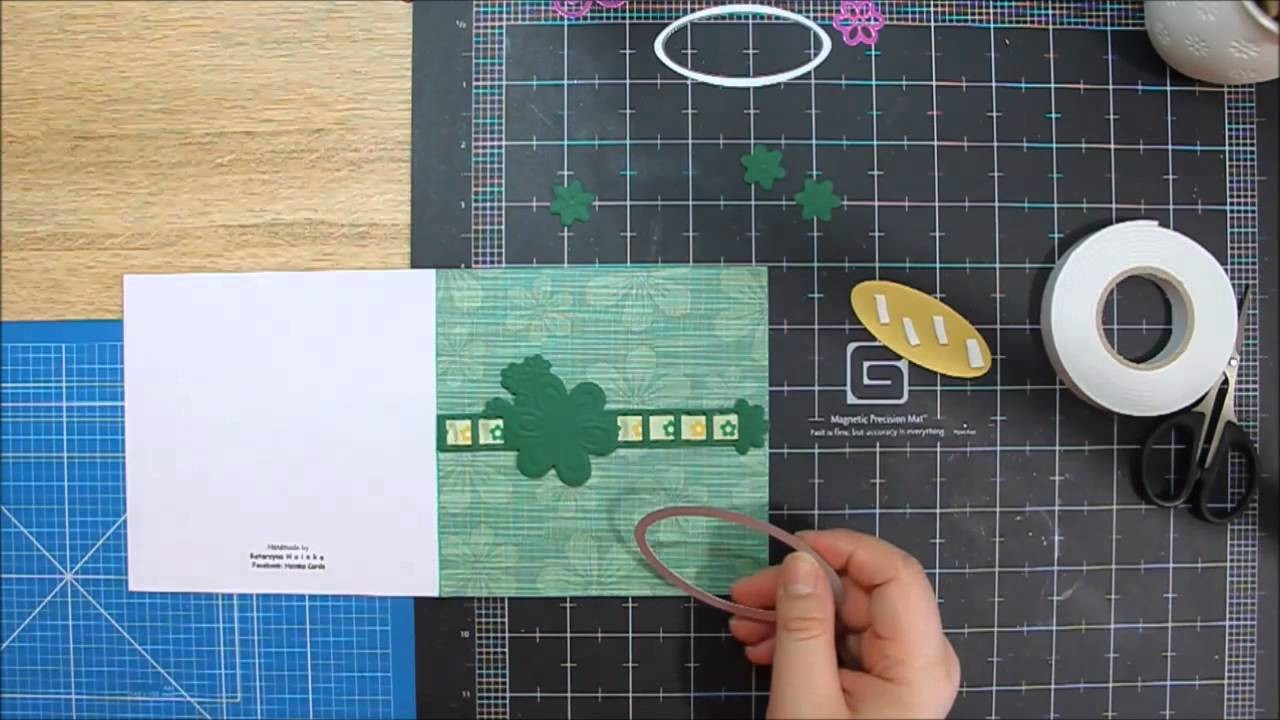 Name day card - scrapbooking by Hoinka Crafts