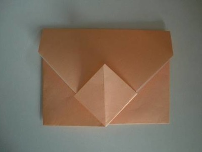 Origami-Instructions: Envelope