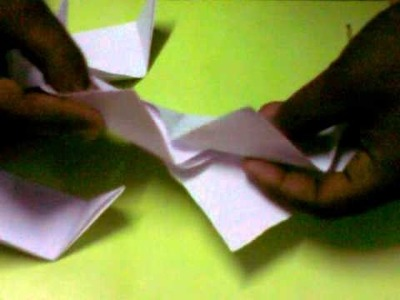 Paper made Pot: Origami Pot : Tri pot