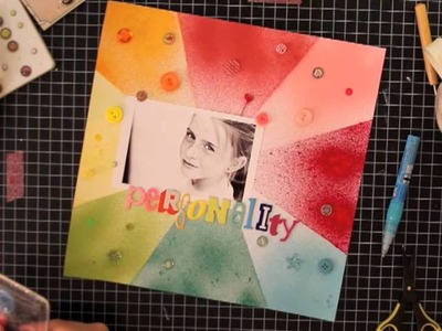 PaperCrafter's Corner: Scrapbooking How To: Misting