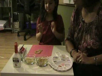 ParentTalkTV : Painting with Pasta Craft Project : WhereParentsTalk.com :: Parenting Video
