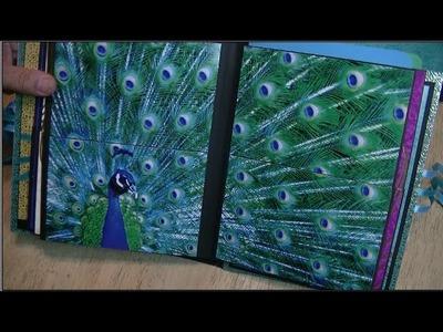 Peacock Wedding Album Crafty Share ~ Noreen's Kitchen
