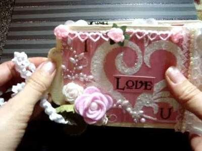 Project #2: 'I Love You' Mini Album for the May Arts January Craft Challenge ~ Sweet Nothings
