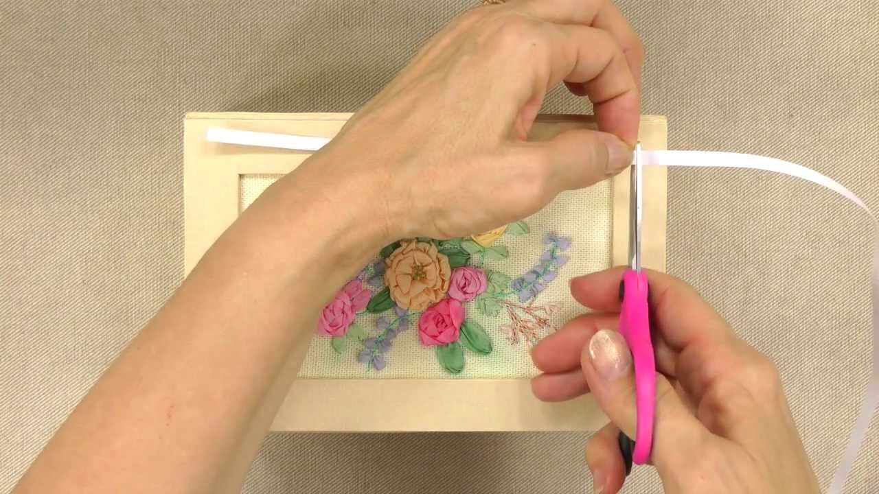 Ribbon Embroidery Stitches - Annie's Creative Woman Kit-of-the-Month Club