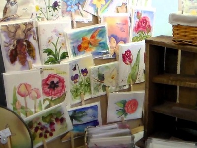 Schoolhouse Antiques Mall Art & Craft booth share