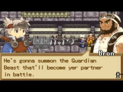 Summon Night Sword Craft Story Day 1 2.2 Guardian Beast