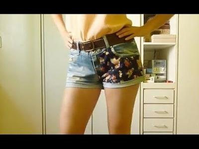 Tutorial DIY Patch Shorts (español & english)