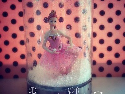 10 DIY Gifts: Gift idea 2 PART II : Homemade DRY snow globes (no water) ! PRETTY GIFT!