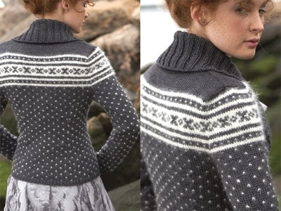 #3 Nordic Cardigan, Vogue Knitting Fall 2011