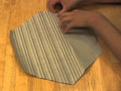 Basic Origami Design in Fast Motion