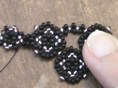 BeadsFriends: Necklace Tutorial - How to make a beaded necklace with seed beads | Beading Tutorial