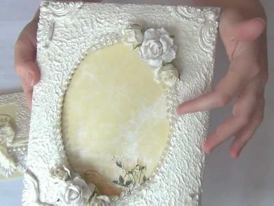 Beautifully Elegant Wedding Picture Frame & Wedding Card