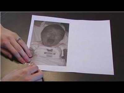 Card Making : How to Make an Old Photo Birthday Card