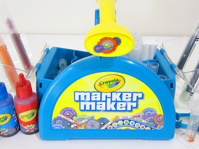 Crayola Marker Maker Play Kit | Easy DIY Make Your Own Color Markers!