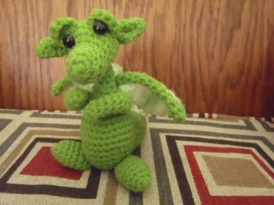 "Crochet Baby Snow Dragon for ""Dummies"""