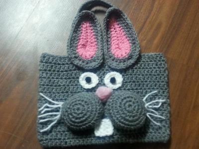 #Crochet Bag - #Crochet Bunny Bag Tutorial