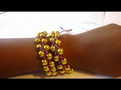 DIY Beaded Stackable Bracelets. Friendship Bracelets