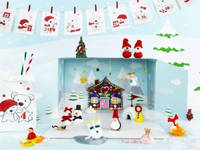 DIY by Panduro: Christmas Wonder World Advent Calendar