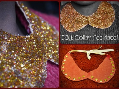 DIY: Collar Necklaces ♡