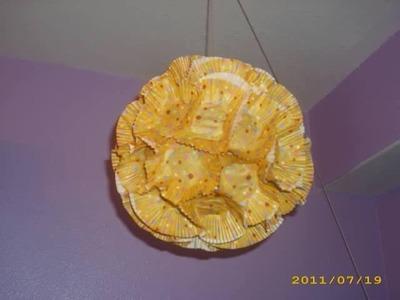 DIY: Cup Cake Paper Lantern