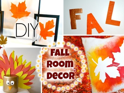 DIY Fall Room Decorations For Cheap!