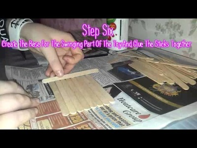 DIY Hamster Toy: Popsicle Stick Swing