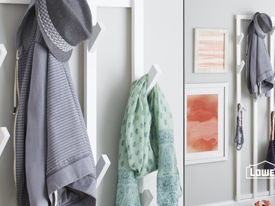 DIY Hanging Coat Rack