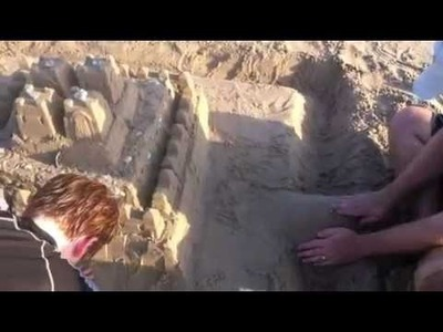 DIY How To Build A Sand Castle