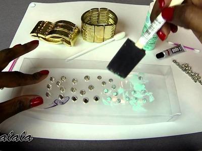DIY Spiked Bracelets & Giveaway Winner! (Jewelmint & Darby Smart Kit)