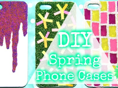 DIY Spring.Summer Phone Cases