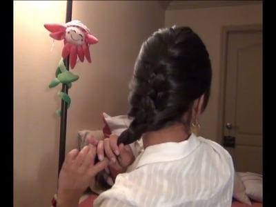 DIY Trança Embutida - Facil. Easy French Braid