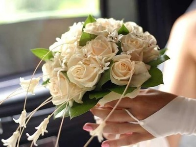 DIY Wedding Flowers Ideas: How To Make Cute Bridal Bouquet