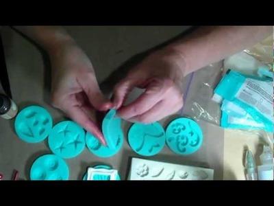 Dyeing Martha Stewart Craft Clay with Reinkers or Pearl Powders