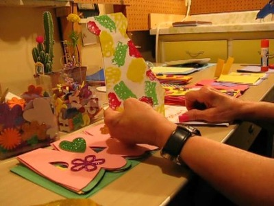 Father's Day Kids Crafts Part 1 - Nan's Crafts Episode 3