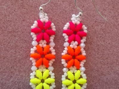 Hexagon Duo Earrings