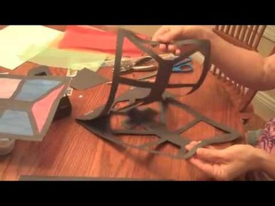 History Projects:  Make a Stained Glass Window Out of Paper
