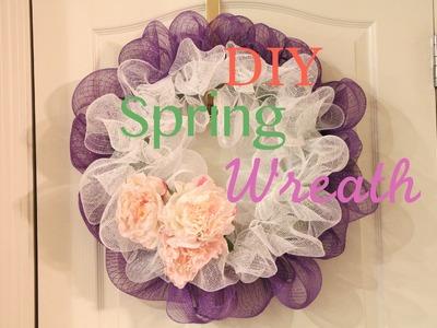 Home Decor DIY Spring Wreath