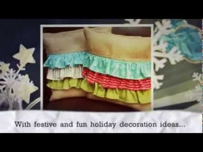 Homemade Christmas Gifts: 14 Gift Ideas & DIY Home Decor free eBook