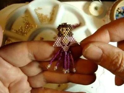 How To Add Bead Fringe  * The Hope Fairy * by Beth Murr