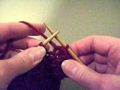 How to bind off your knitting project