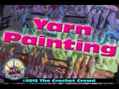 How To Crochet A Basket Weave Yarn Painting